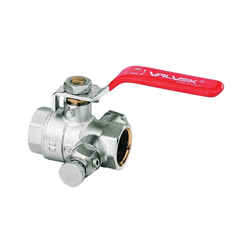 Gulovy ventil 1 s vypustakom